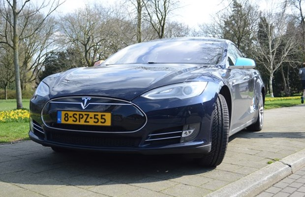 Tesla Model S 2013 in Utrecht
