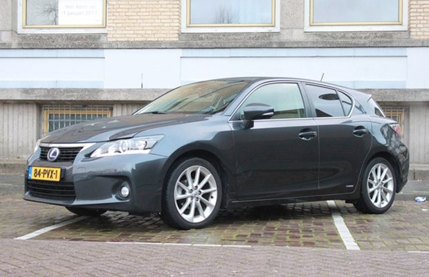 Lexus CT 2011 in Amsterdam