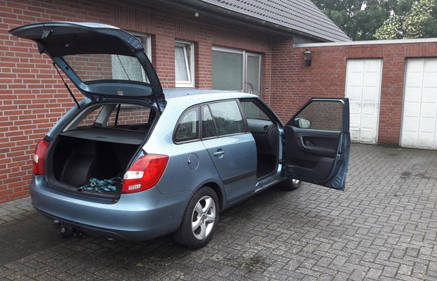 skoda fabia mieten in h rstel 20 00 pro tag snappcar. Black Bedroom Furniture Sets. Home Design Ideas
